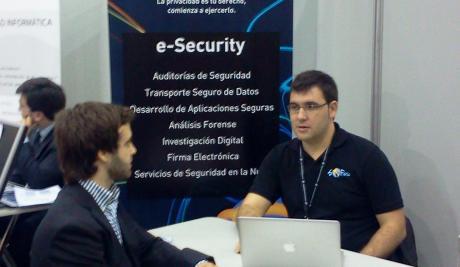 Seguridad Web en el dia de la persona emprendedora 2012