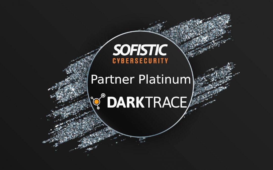 Sofistic se convierte en partner platinum de Darktrace
