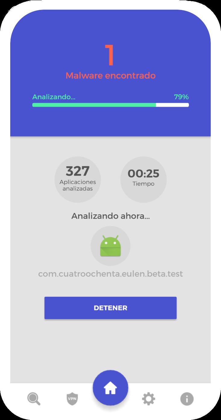 Antivirus android UareSAFE