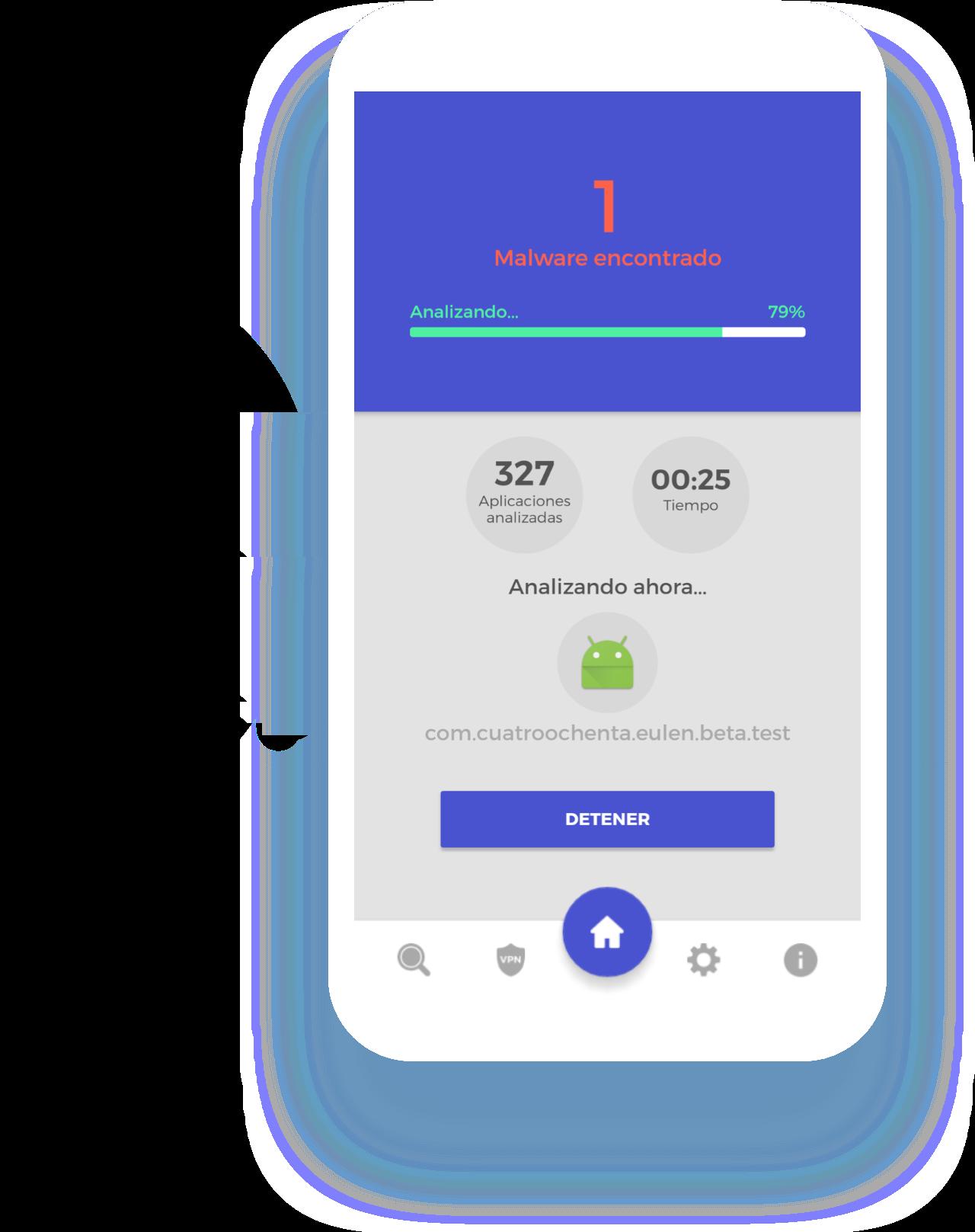 UareSAFE antivirus android